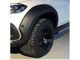 Расширители колесных арок для Mercedes-Benz X-Class 4,5 см