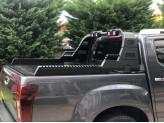 """Защитная дуга """"AQM Rollbar"""" для Dodge Ram с габаритными фонарями в кузов пикапа"""