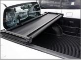 Крышка виниловая на Mitsubishi L200, трехсекционная, виниловая (Double Cab. 1.325 m), изображение 2