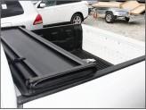 Крышка кузова пикапа для Mitsubishi L200, трехсекционная,виниловая для DOUBLE CAB (длинная база), изображение 3