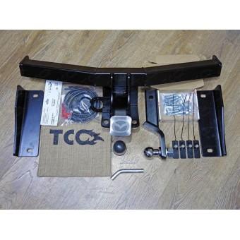 Фаркоп для Mazda CX 9 (провода, розетка, декоративная заглушка, чехол для крюка)