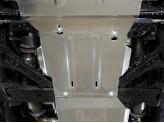 Защита КПП 4 мм,для мод. с 2014 г.