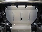 Защита радиатора Infiniti QX80 4 мм, 2014/2018-