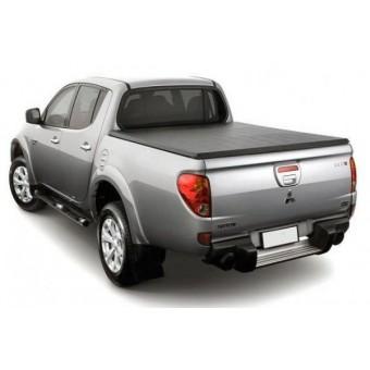 Крышка кузова пикапа для Mitsubishi L200, трехсекционная,виниловая для DOUBLE CAB (длинная база)