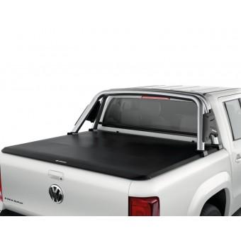 Защита кузова для Volkswagen Amarok из винила и решетчатого каркаса из алюминия