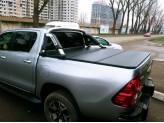 Защитная дуга для в кузов пикапа,полир. нерж. сталь + пластик ABS