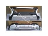 Комплект накладок на передний и задний бампер Great Wall Hover H6