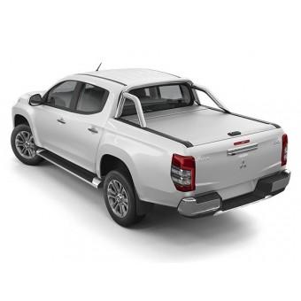 """Крышка Mountain Top для Mitsubishi L200 """"TOP ROLL"""", цвет серебристый c защитной дугой (доступна к заказу в черном цвете и без дуги)"""