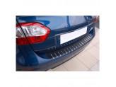 Накладка для Subaru Forester на задний бампер профилированная с загибом