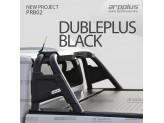 """Защитная дуга """"Double Plus Black"""" для Mitsubishi L200 2015-"""