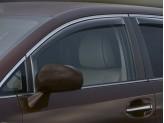 Дефлекторы боковых окон WEATHERTECH для Toyota Venza, передние  2 ч.,темные