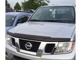 Дефлектор капота для Nissan Frontier, темный