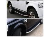 """Комплект алюминиевых порогов для  Land Rover Freelander II """"OE-style"""""""