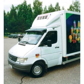 Козырек на лобовое стекло, с креплением (1995-2006)