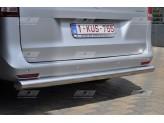 """Защита задняя """"MERKUR"""" для Mercedes-Benz V-Class, 60 мм полир. нерж. сталь"""