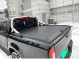 """Крышка Mountain Top для Mercedes-Benz X-Class """"TOP ROLL"""" под оригинальную дугу (цвет черный, рейлинги поставляются отдельно), изображение 2"""