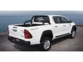 """Защитная дуга для Toyota HiLux """"Max Sport Bar"""" в кузов пикапа, цвет черный"""
