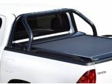 """Крышка для Toyota HiLux серия """"SOT-ROLL"""" с дугой 63 мм, цвет черный"""