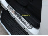 Хромированные накладки для Land Rover Discovery IV на пороги, полир. нерж. сталь