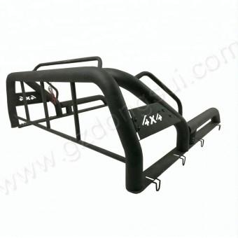 Защитная дуга для Fiat Fullback в кузов пикапа (цвет черный, сталь 1,5 мм) 2013 -