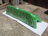 Защитная дуга 76 мм в кузов пикапа с защитой заднего стекла (полированная нержавеющая сталь), изображение 9