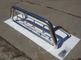 Защитная дуга 76 мм в кузов пикапа с защитой заднего стекла