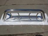 Защитная дуга 76 мм в кузов пикапа с защитой заднего стекла (полированная нержавеющая сталь), изображение 5