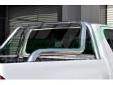 """Защитная дуга """"ABEN"""" в кузов пикапа 76 мм полированная, нержавеющая сталь (толщина стенки метала 1,5 мм), изображение 2"""