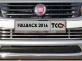 Рамка под номер для Fiat Fullback с логотипом