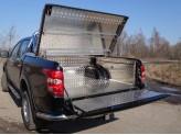 Защитный алюминиевый вкладыш в кузов автомобиля (комплект), изображение 3