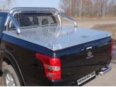 Алюминиевая крышка кузова пикапа (рейлинги и дуги безопасности поставляются отдельно), изображение 2