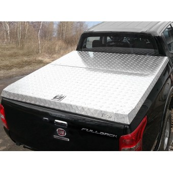 Алюминиевая крышка кузова пикапа (рейлинги и дуги безопасности поставляются отдельно)