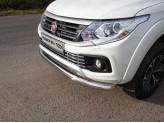 Защита передняя для Fiat Fullback нижняя 76 мм