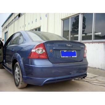 Спойлер крышки багажника (грунтованный стеклопластик, для седан) для 2005-2007 г.