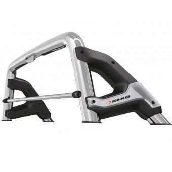 Защитная дуга для Ssang Yong Actyon Sport в кузов пикапа, (возможна установка с трехсекционной крышкой)