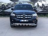 """Защита бампера """"GloCity Chrome"""" для Mercedes-Benz X-Class  (70 мм, полир. нерж. сталь), изображение 3"""