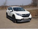 Защита передняя для Honda CR-V нижняя 60 мм