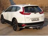 Защита задняя для Honda CR-V 42 мм
