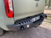 Задний силовой бампер серии AQM для Mercedes-Benz X-Class сталь 3 мм