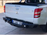 Задний силовой бампер серии AQM для Fiat Fullback сталь 3 мм
