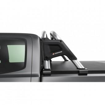 Защитная дуга для Mitsubishi L200 в кузов пикапа (возможна установка с трехсекционной крышкой)