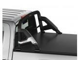 Защитная дуга для Chevrolet Silverado в кузов пикапа, цвет черный