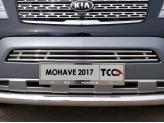 Рамка под номер для Kia Mohave с логотипом