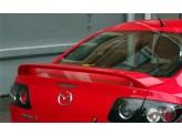 Спойлер крышки багажника (грунтованный ABS пластик, для седан) для 2003-2009 г., изображение 3