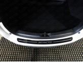 Хромированная накладка для Mazda CX 5 на задний бампер