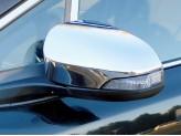 Хромированные накладки на зеркала Toyota C-HR