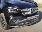 Защита передняя для Mercedes-Benz X-Class , 60,3 мм полир. нерж. сталь