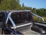 Защитная дуга с защитой заднего стекла для Mercedes-Benz X-Class кузов пикапа