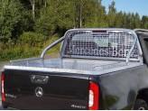 Крышка пикапа для Mercedes-Benz X-Class с защитной дугой с защитой заднего стекла и рейлингами
