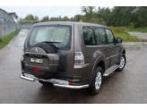 Защита задняя для Mitsubishi Pajero